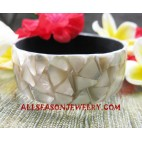 Bangles Seashell Resin