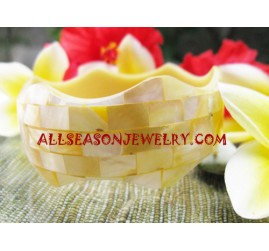 Resin Seashell Bangles