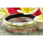 Seashell Bangle Small