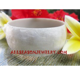 Seashell Bangles Natural