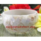 Seashell Bangles Resin