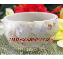 Seashell Bangles Resin