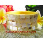 Shell Bangle Large
