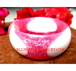 Colored Resin Bangle