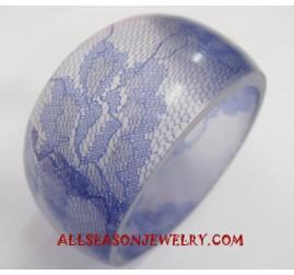Resin Bracelet Handcrafted