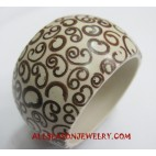 Resin Sinamon Bangle