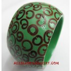 Sinamon Resin Bangle