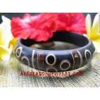 Bamboo Resin Bangle