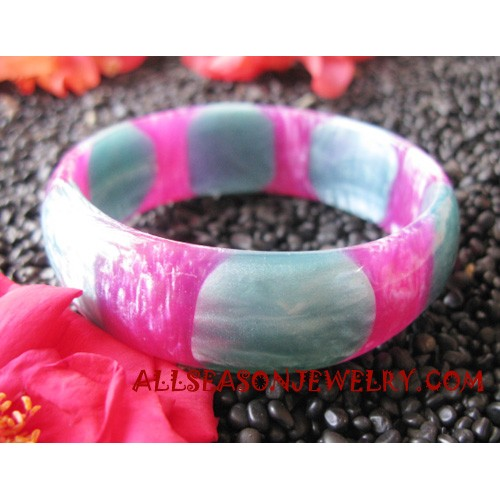 Bangles Glass Resin