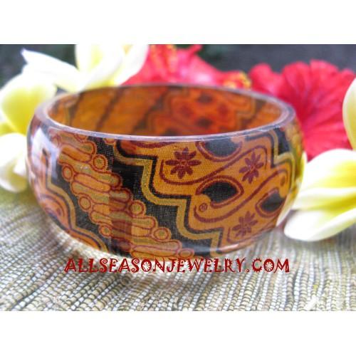 Bangles Resin Batik