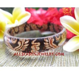 Batik Bangles Resin