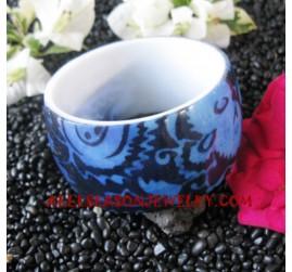 Batik Resin Bangles