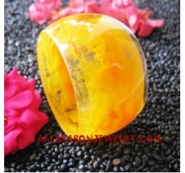 Big Resin Bangle