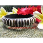 Coconut Bangle Resin