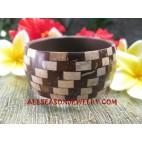 Coconut Bangles Resin
