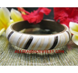 Coconuts Bangle Resin