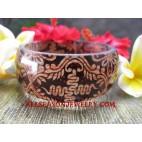 Fashion Resin Bangle Batik