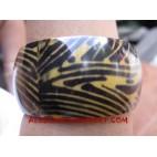 Girl Resin Bangle Zebra