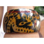 Ladies Bangle Resin Batik
