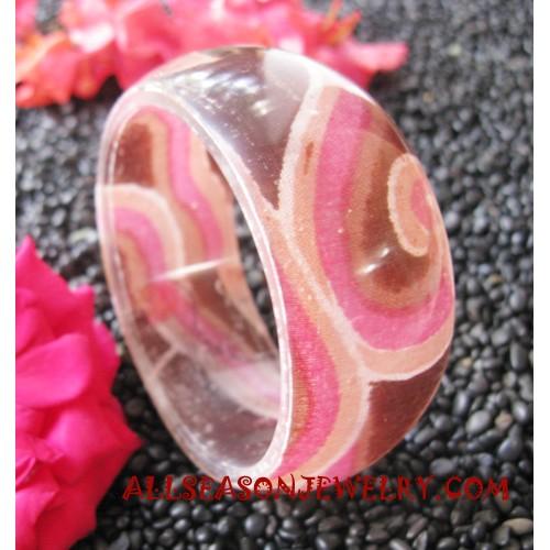 Resin Bangle Batik