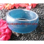 Resin Bangle Natural