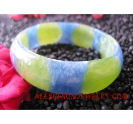 Resin Bangle Painting