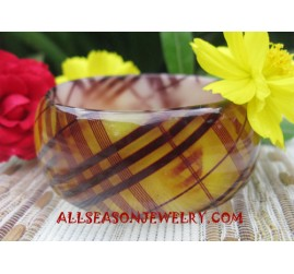 Resin Bangle Motive  Bali