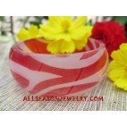 Resin Bangle Printed