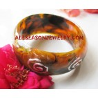 Resin Bangles Painting