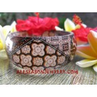 Resin Batik Bangle
