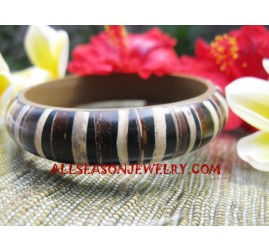 Resin Wooden Bangle