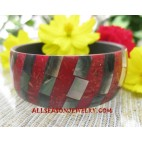 Shell Resin Bangle