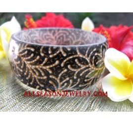 Women Bangle Resin Batik