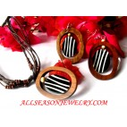 Woods Shell Jewelry Set