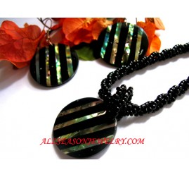 Abalone Jewelery Sets