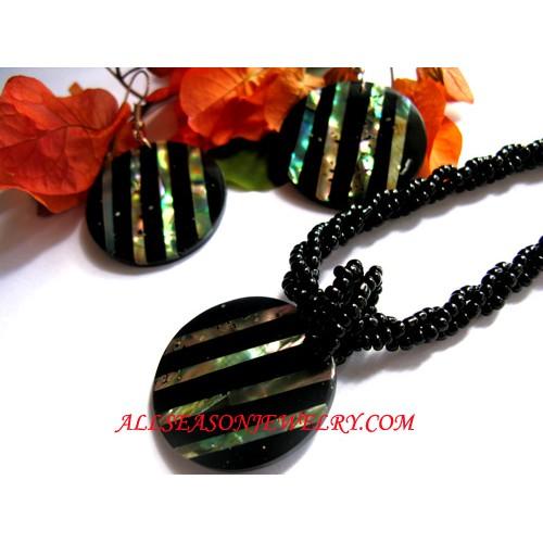 Abalone Jewelery Sets