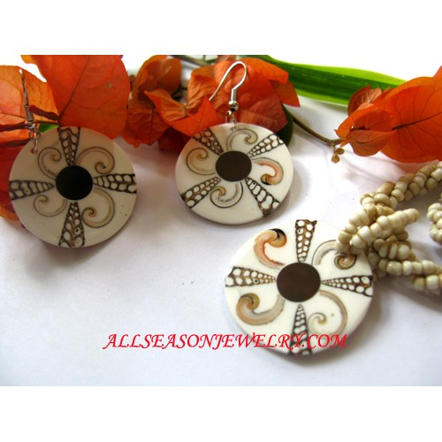 Jewelry Set Shell Design