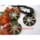 Ladies Shell Jewel Sets