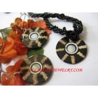 Ladies Shell Jewel Sets