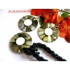 Paua Jewelry Set