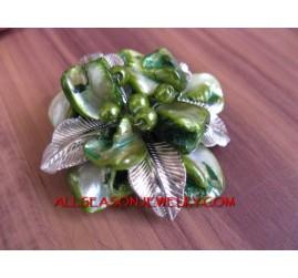 Bali Brooch Shells