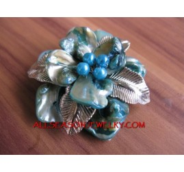 Shells Women Brooch