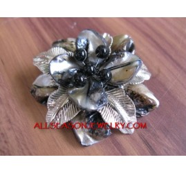 Ladies Brooches Shells