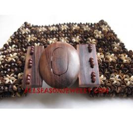 Coconuts Wooden Belt