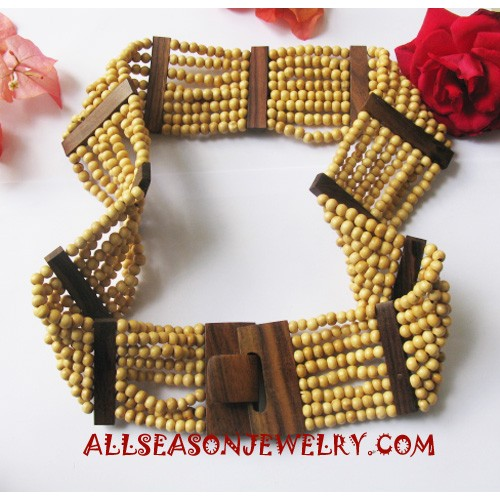 Natural Wood Belts
