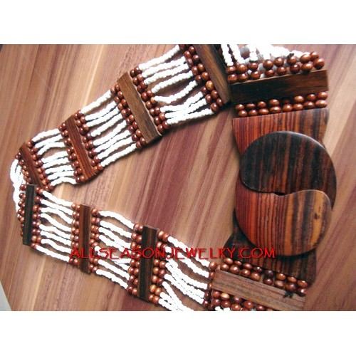 Belts Stretched  Wood