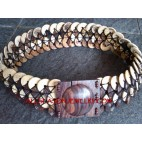 Bali Wooden Coco Belts