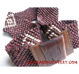 Wooden Coco Belts