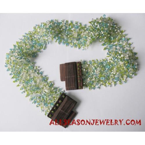 Beaded Belt Handmade