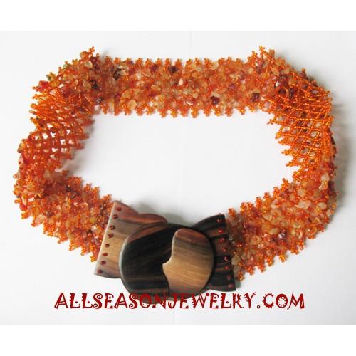 Beads Belts Buckle